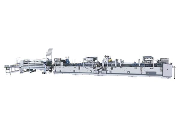 High Speed Carton Box Folding and Gluing Machine HZH-FB