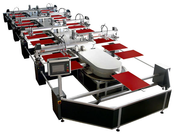Full Automatic Oval Screen Printing Machine