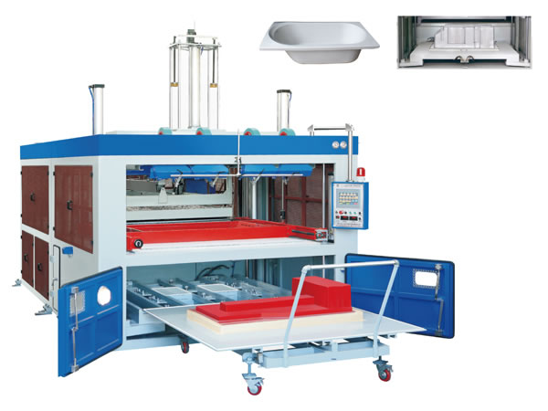 Automatic Thick Sheet Vacuum Forming Machine